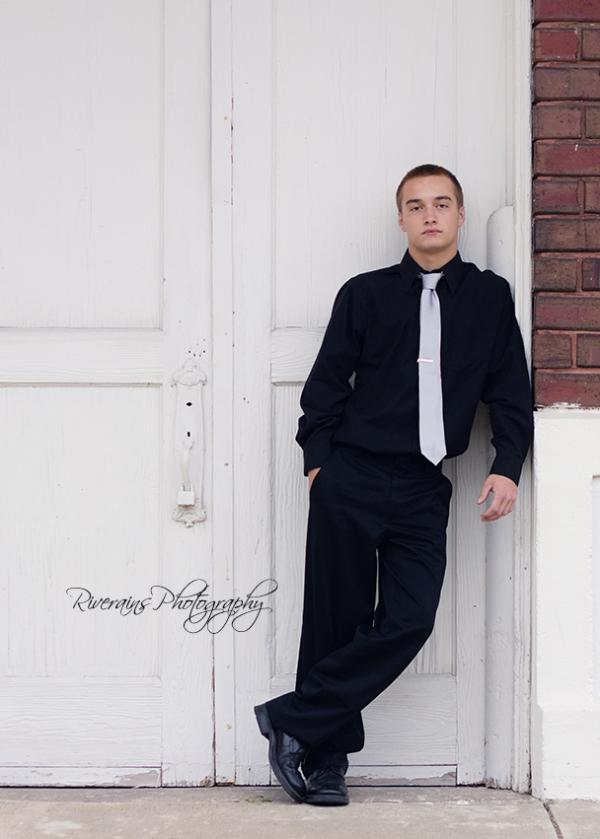 Matthew 3 Serious senior boy
