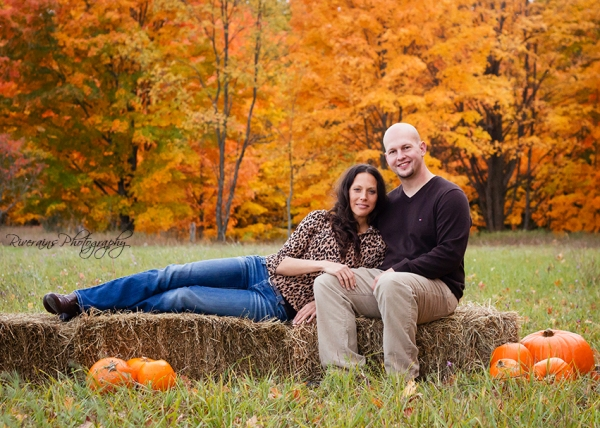 october engaged photo shoot