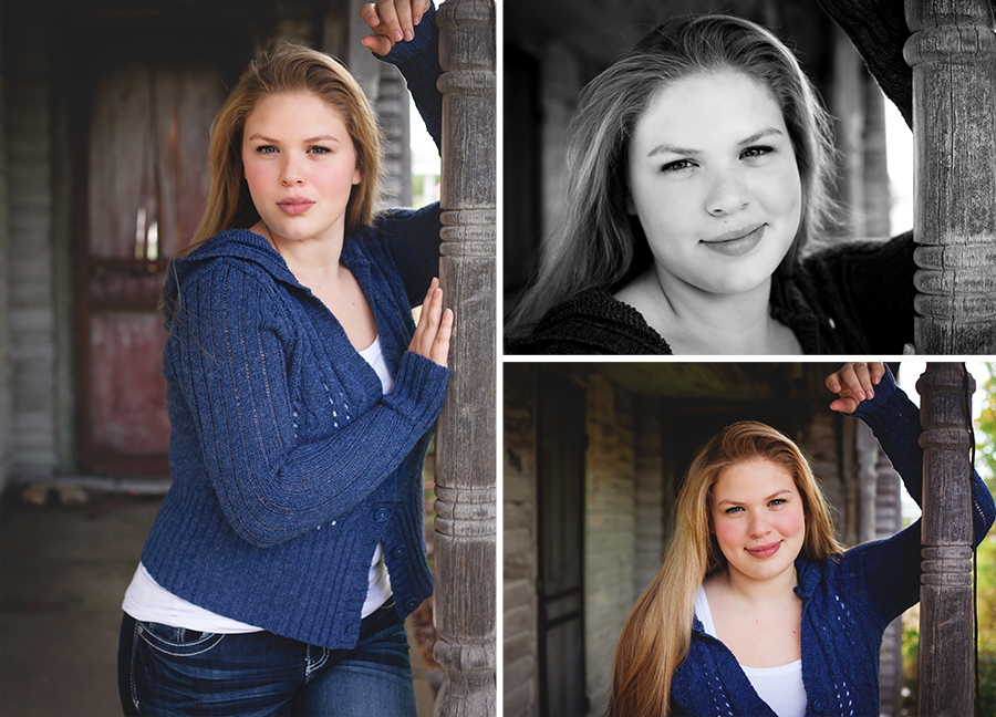 Kalkaska senior photographer abandoned gritty girl