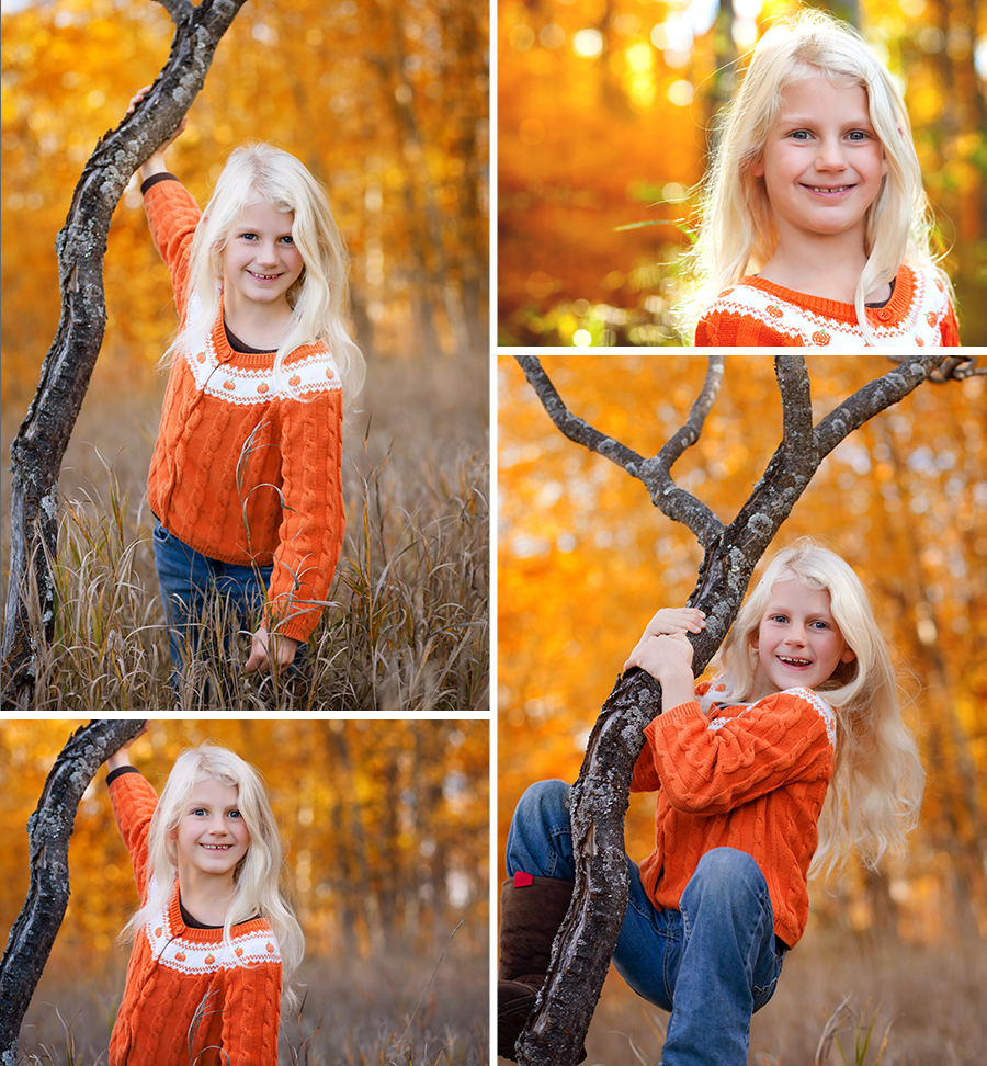 Gorgeous Fall October Autumn Blonde Hair Girl