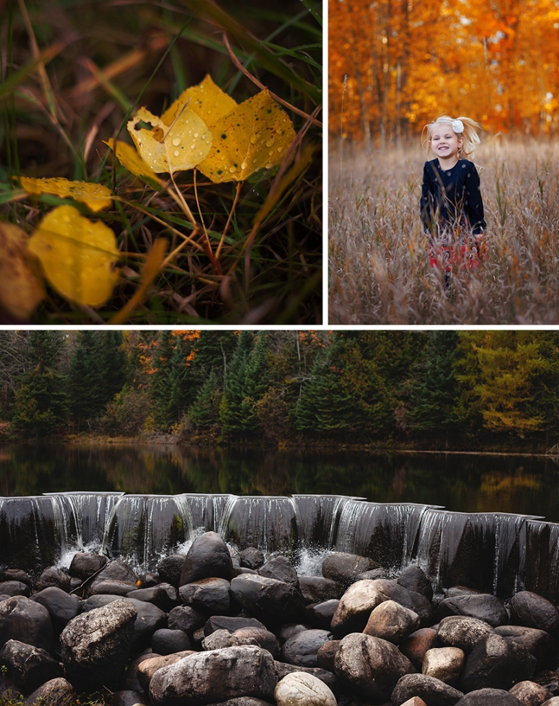 Kalkaska Outdoor Photography Fall Beauty Family