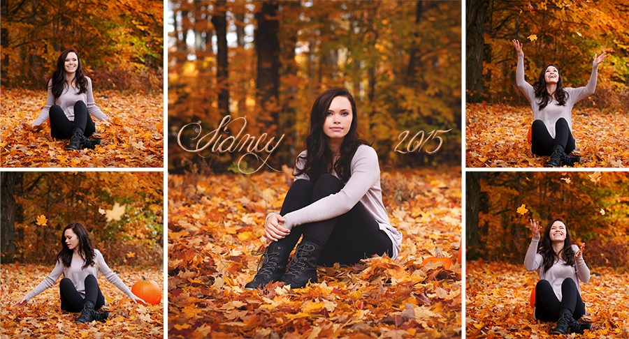 October Kalkaska Senior Photos