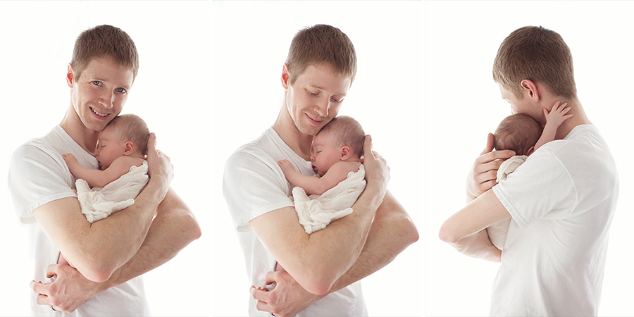 family photography michigan father daughter baby newborn