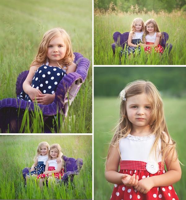 Beautiful sisters elk rapids summer fun backlight golden hour