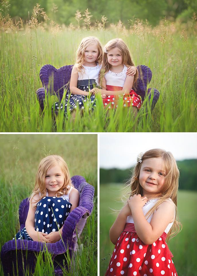 Kalkaska photographer sister field summer sun family photos