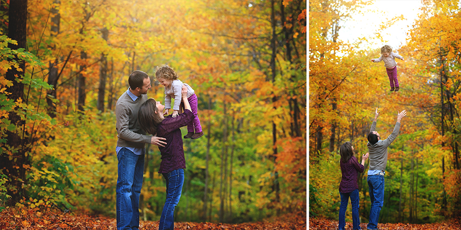 beautiful fall foliage photo session traverse city photographer