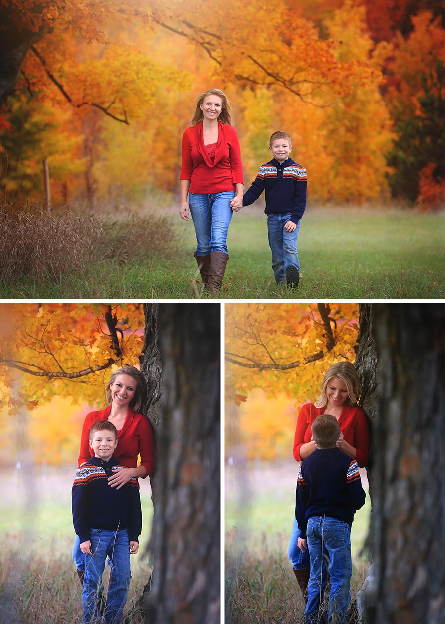 Fall Family Photographs Alden Photographer October