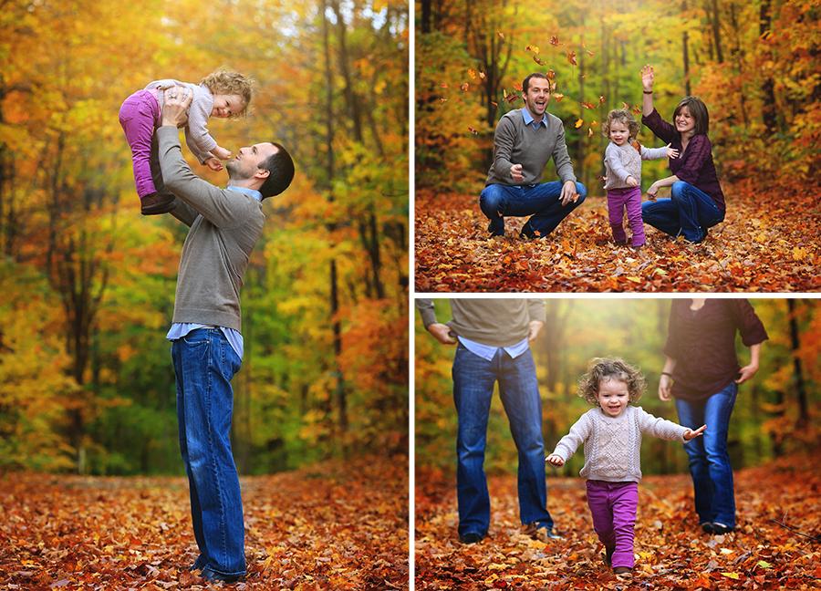 Fall family photoshoot northern michigan photographer petoskey