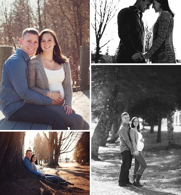 grayling maternity outdoor photo shoot